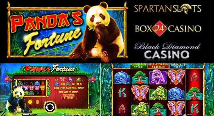 pandas fortune slot